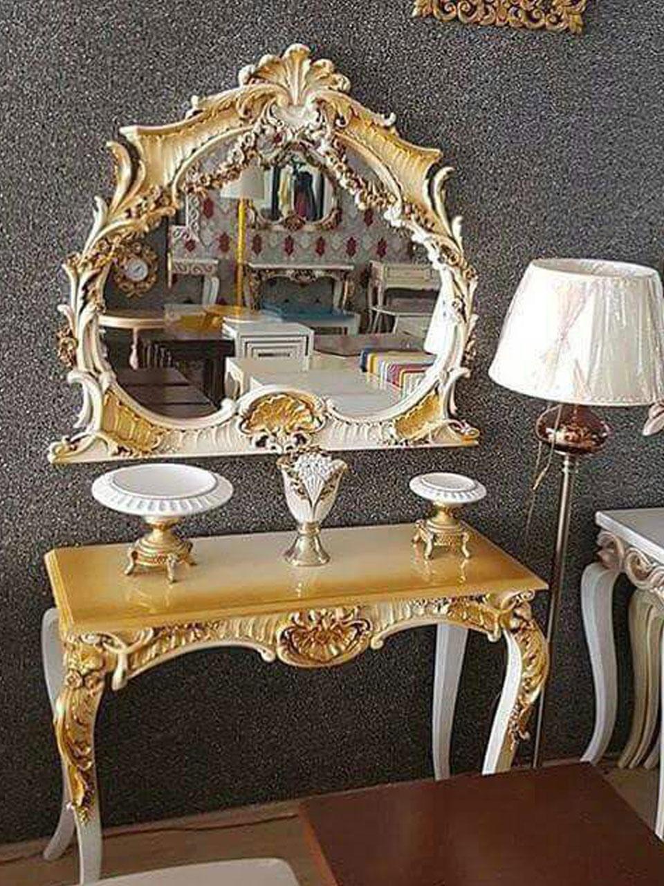 Almina Dresuar Ayna Puf