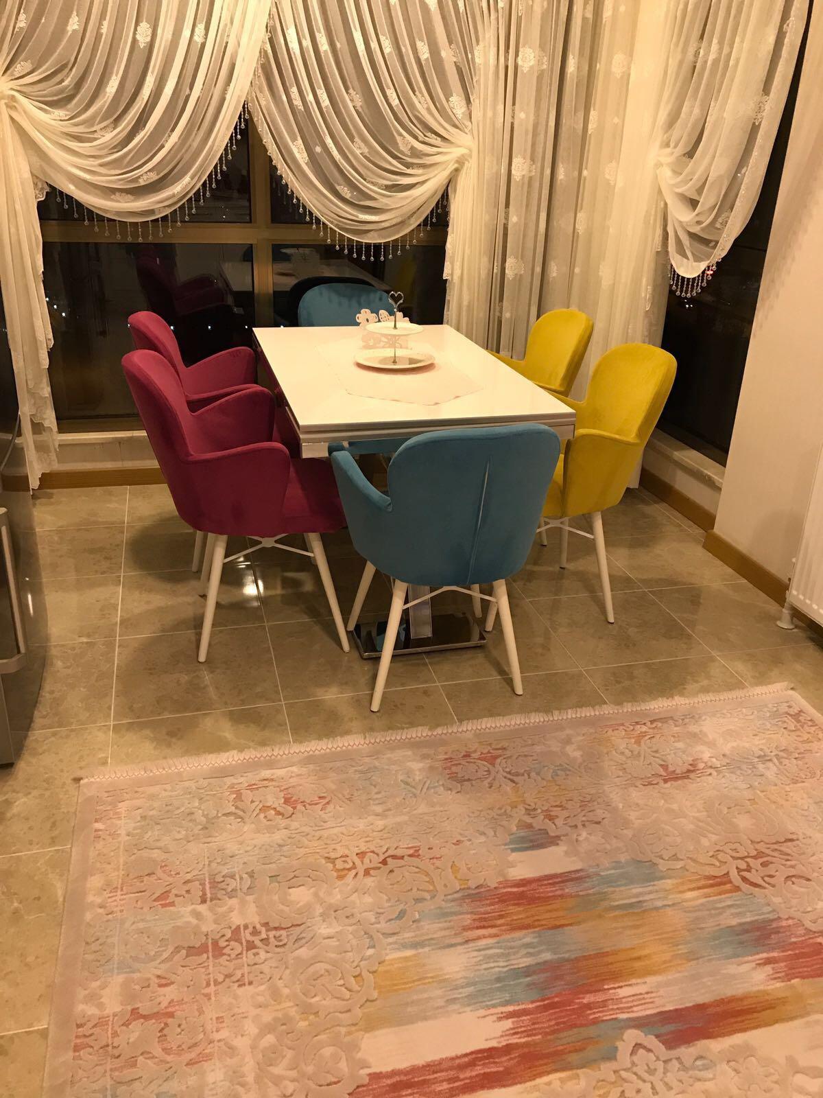O.X. İkon Masa Ahşap Kelebek Sandalye